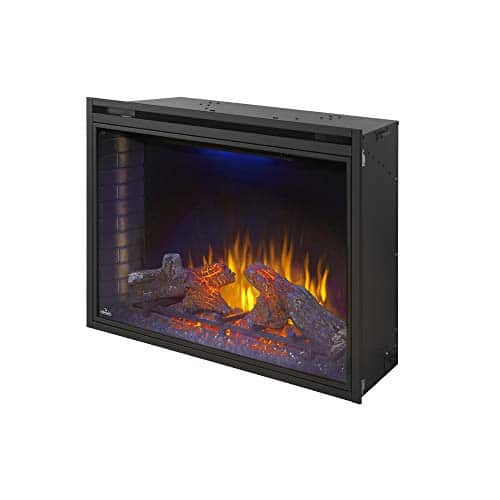 Napoleon Ascent NEFB40H Built in Electric Fireplace 40 Inch Black 0 5