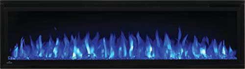 Napoleon Entice NEFL60CFH Wall Hanging Electric Fireplace 60 Inch Black 0 0