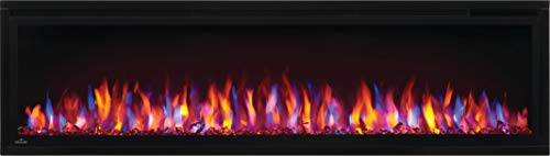 Napoleon Entice NEFL60CFH Wall Hanging Electric Fireplace 60 Inch Black 0 1