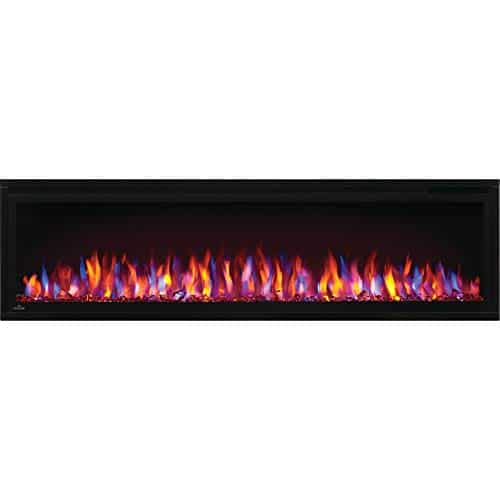 Napoleon Entice NEFL60CFH Wall Hanging Electric Fireplace 60 Inch Black 0 2