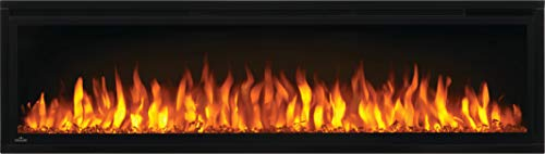 Napoleon Entice NEFL60CFH Wall Hanging Electric Fireplace 60 Inch Black 0