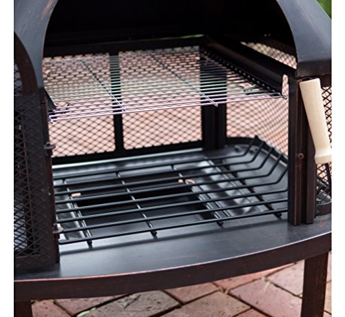 Outdoor Fireplace Wood Burning Outdoor Fireplace with Smokestack Gather Around the Fire in Your Backyard with This Modern Outdoor Fireplace 0 2
