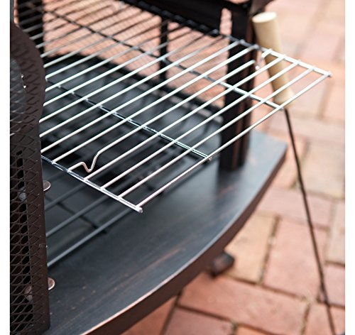 Outdoor Fireplace Wood Burning Outdoor Fireplace with Smokestack Gather Around the Fire in Your Backyard with This Modern Outdoor Fireplace 0 3