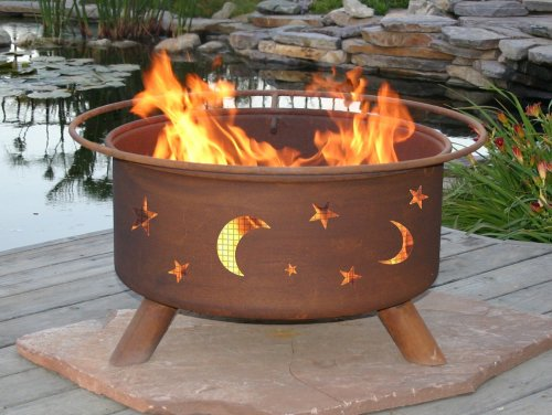 Patina Products F100 30 Inch Evening Sky Fire Pit F100 0 0