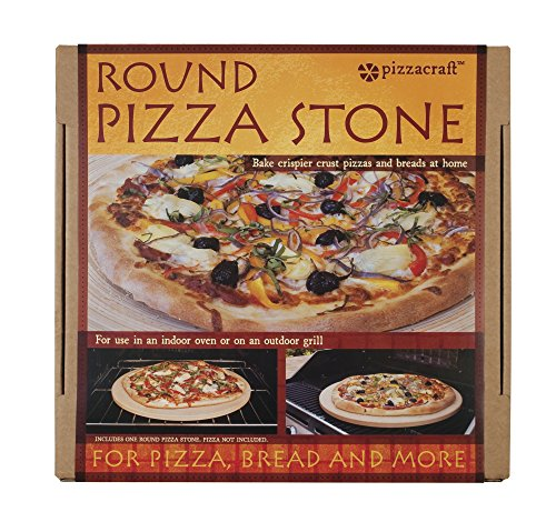 Pizzacraft 165 Round ThermaBond BakingPizza Stone for Oven or Grill PC9898 0 3
