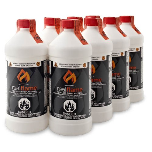 Real Flame 2264 Ventless Fireplace Fuel 8 Pack 0