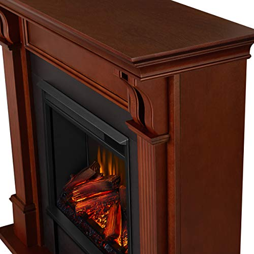 Real Flame 7100E M 7100E Ashley Electric Fireplace Medium Mahogany 0 0