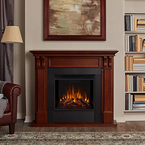 Real Flame 7100E M 7100E Ashley Electric Fireplace Medium Mahogany 0