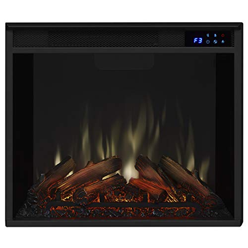Real Flame Aspen Electric Fireplace 485 L x 135 W x 3819 H Chestnut Barn Wood 0 5