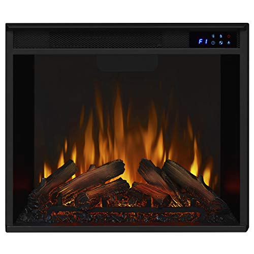 Real Flame Fresno Electric Fireplae Media Fireplace Large Dark Walnut 0 3