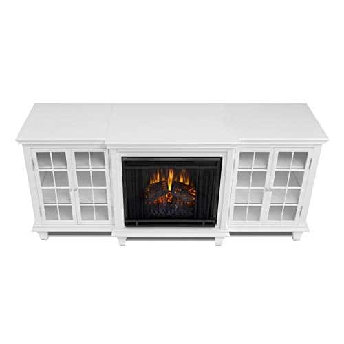 Real Flame Marlowe Fireplace TV Stand in Black 0 0