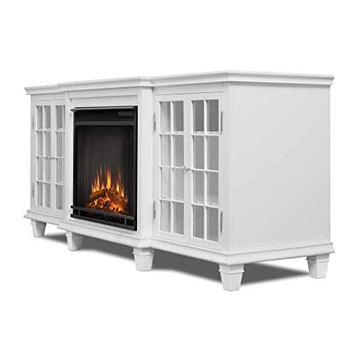 Real Flame Marlowe Fireplace TV Stand in Black 0 1