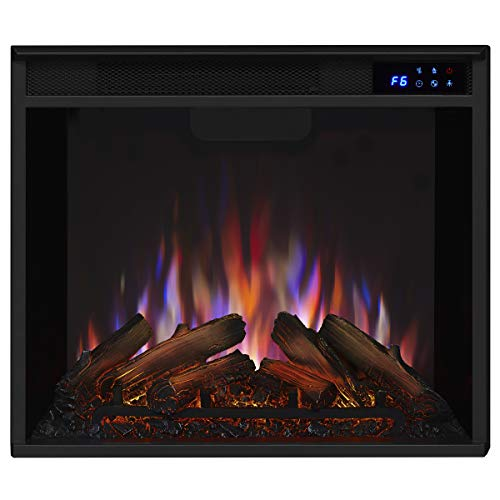 Real Flame Media Calie Electric Fireplace in White 0 3
