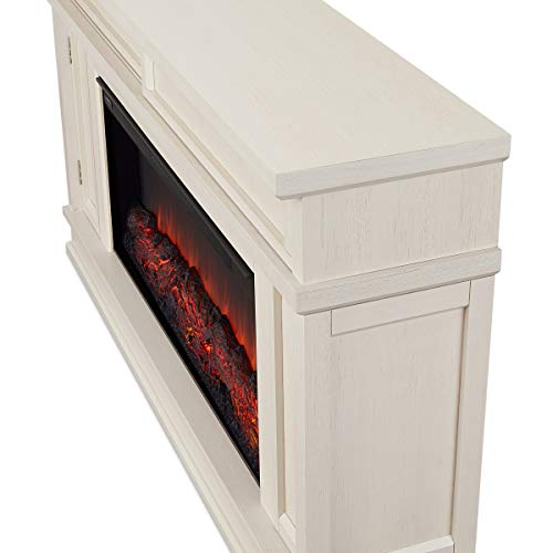 Real Flame Torrey Electric Fireplace Bone 0 0