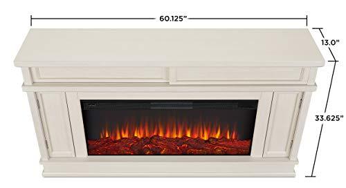 Real Flame Torrey Electric Fireplace Bone 0 1