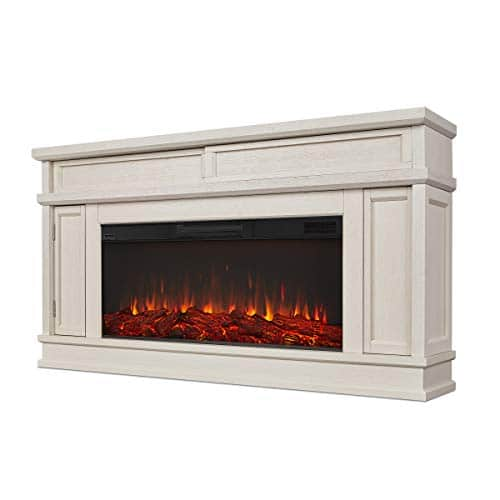Real Flame Torrey Electric Fireplace Bone 0 2