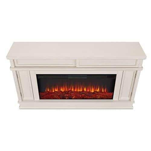 Real Flame Torrey Electric Fireplace Bone 0 5