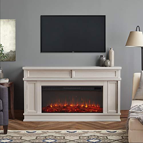 Real Flame Torrey Electric Fireplace Bone 0