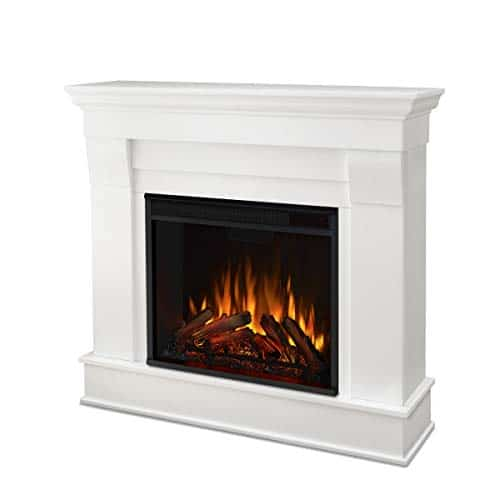 Real Flame White Chateau Electric Fireplace Small 0 0