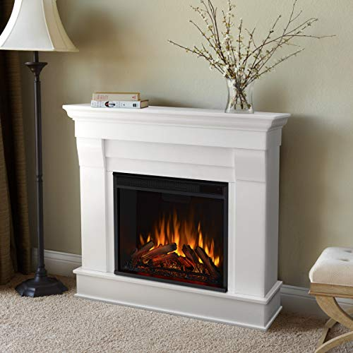 Real Flame White Chateau Electric Fireplace Small 0