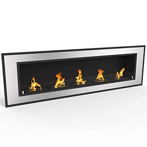 Regal Flame Cynergy 72 Ventless Built In Wall Recessed Bio Ethanol Wall Mounted Fireplace Similar Electric Fireplaces Gas Logs Fireplace Inserts Log Sets Gas Fireplaces Space Heaters Propane 0 0