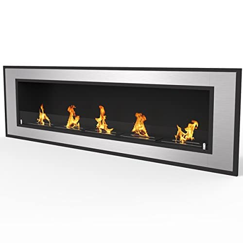 Regal Flame Cynergy 72 Ventless Built In Wall Recessed Bio Ethanol Wall Mounted Fireplace Similar Electric Fireplaces Gas Logs Fireplace Inserts Log Sets Gas Fireplaces Space Heaters Propane 0 1