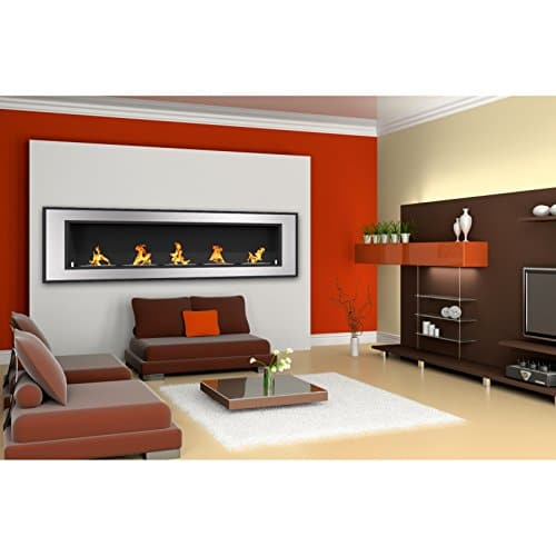 Regal Flame Cynergy 72 Ventless Built In Wall Recessed Bio Ethanol Wall Mounted Fireplace Similar Electric Fireplaces Gas Logs Fireplace Inserts Log Sets Gas Fireplaces Space Heaters Propane 0 3