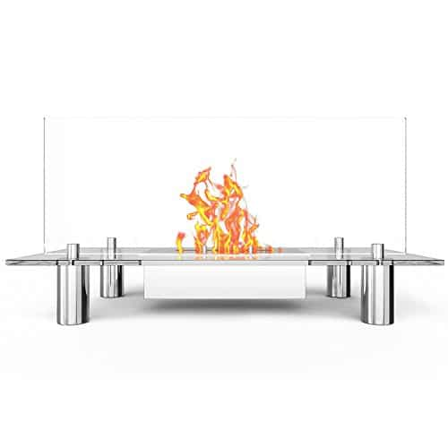 Regal Flame Delano Ventless Free Standing Bio Ethanol Fireplace Can Be Used as a Indoor Outdoor Gas Log Inserts Vent Free Electric Outdoor Fireplaces Gel Propane Fire Pits 0 1