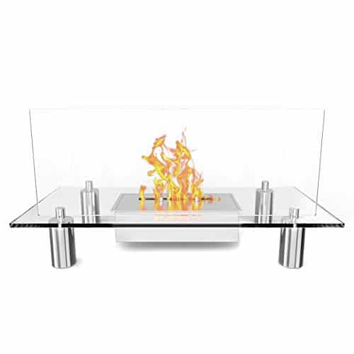 Regal Flame Delano Ventless Free Standing Bio Ethanol Fireplace Can Be Used as a Indoor Outdoor Gas Log Inserts Vent Free Electric Outdoor Fireplaces Gel Propane Fire Pits 0 3