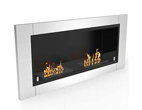 Regal Flame Elite Fargo Ventless Bio Ethanol Recessed or Wall Mounted Fireplace 0 0