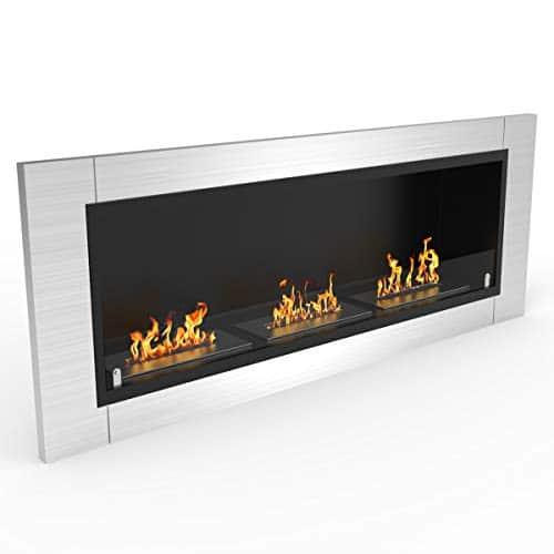 Regal Flame Elite Lenox Ventless Bio Ethanol Recessed or Wall Mounted Fireplace 0 0