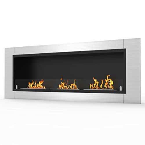 Regal Flame Elite Lenox Ventless Bio Ethanol Recessed or Wall Mounted Fireplace 0 1