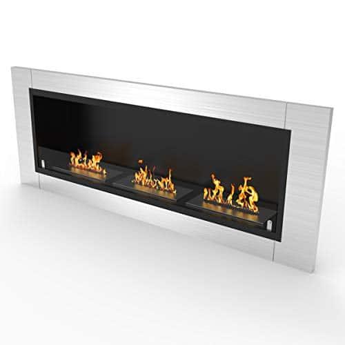 Regal Flame Elite Lenox Ventless Bio Ethanol Recessed or Wall Mounted Fireplace 0 2