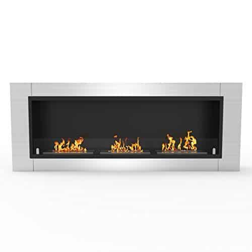 Regal Flame Elite Lenox Ventless Bio Ethanol Recessed or Wall Mounted Fireplace 0