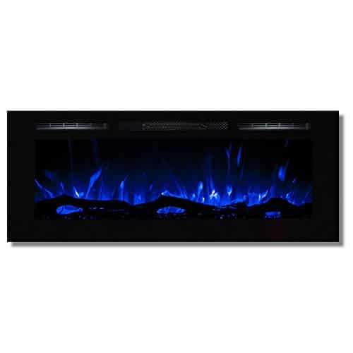 Regal Flame Fusion 50 Log Built in Ventless Recessed Wall Mounted Electric Fireplace Better Than Wood Fireplaces Gas Logs Inserts Log Sets Gas Space Heaters Propane 0 0