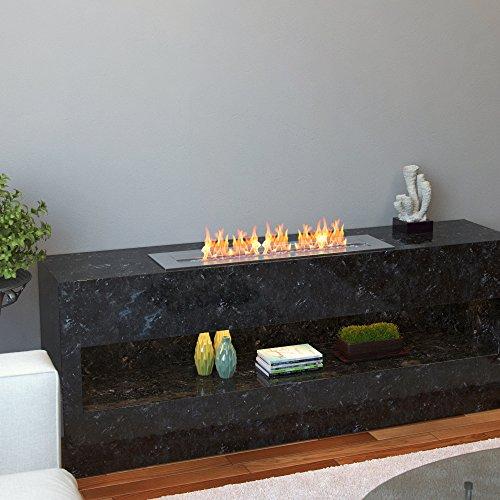 Regal Flame Indoor Outdoor PRO 24 Ventless Bio Ethanol Fireplace Burner Insert 48 Liter 0 2