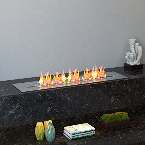 Regal Flame Indoor Outdoor PRO 24 Ventless Bio Ethanol Fireplace Burner Insert 48 Liter 0 3