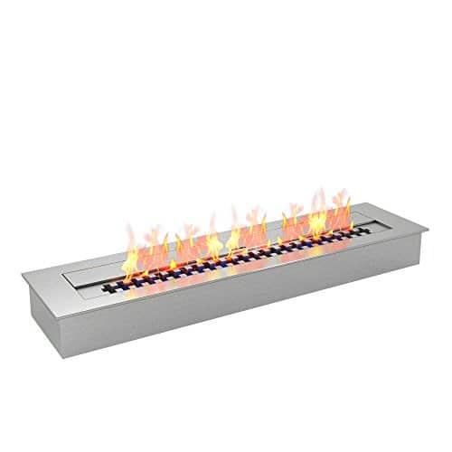 Regal Flame Indoor Outdoor PRO 24 Ventless Bio Ethanol Fireplace Burner Insert 48 Liter 0