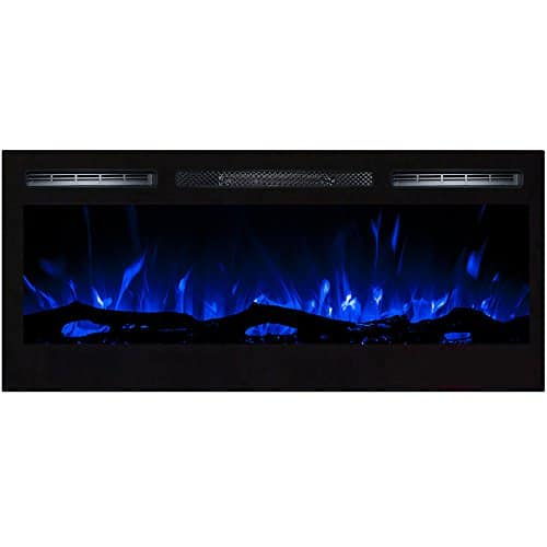 Regal Flame Lexington 35 Log Built in Wall Ventless Heater Recessed Wall Mounted Electric Fireplace Better than Wood Fireplaces Gas Logs Inserts Log Sets Gas Fireplaces Space Heaters 0 0