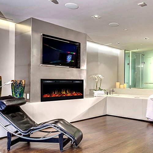 Regal Flame Lexington 35 Log Built in Wall Ventless Heater Recessed Wall Mounted Electric Fireplace Better than Wood Fireplaces Gas Logs Inserts Log Sets Gas Fireplaces Space Heaters 0 2