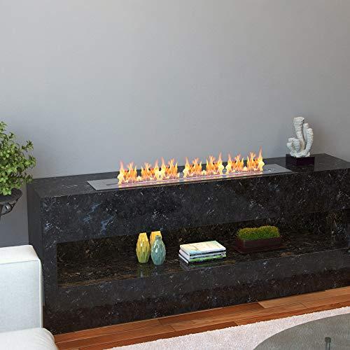 Regal Flame PRO 36 Inch Bio Ethanol Fireplace Burner Insert 74 Liter 0 2