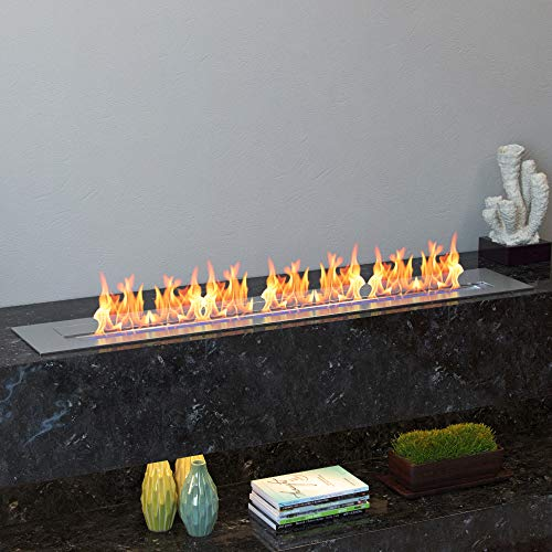Regal Flame PRO 36 Inch Bio Ethanol Fireplace Burner Insert 74 Liter 0 3