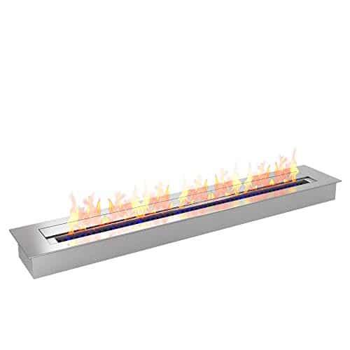 Regal Flame PRO 36 Inch Bio Ethanol Fireplace Burner Insert 74 Liter 0