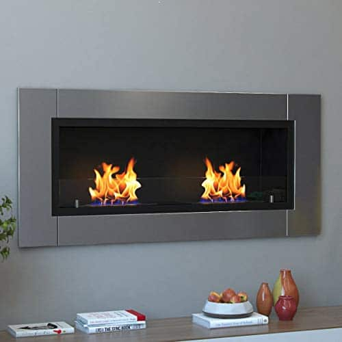 Regal Flame Valencia PRO Wall Mounted Ethanol Fireplace 0 2