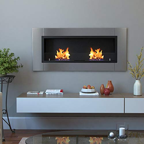 Regal Flame Valencia PRO Wall Mounted Ethanol Fireplace 0 3