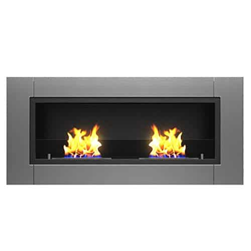 Regal Flame Valencia PRO Wall Mounted Ethanol Fireplace 0