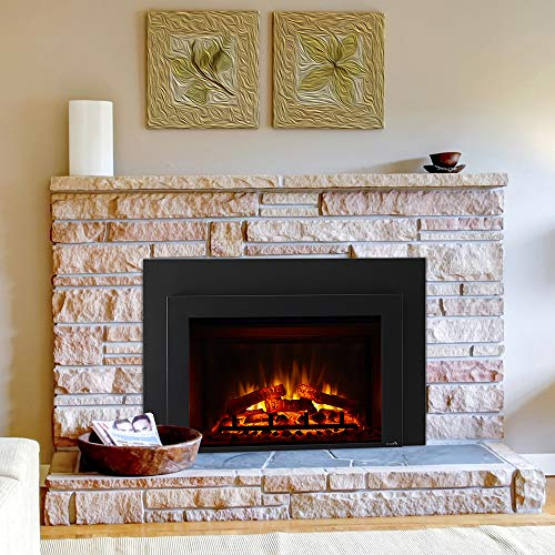 SIMPLIFIRE 30 Electric Fireplace Insert 44 x 32 Large Surround 0 0