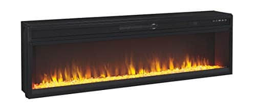 Signature Design by Ashley Entertainment Accessories Wide Fireplace Insert Black 0 0