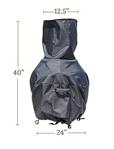 Sturdy Covers Chiminea Defender Durable Weather Proof Chiminea Fire Pit Cover 0 4