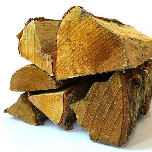 Timbertote 075 Cubic Feet Natural Hardwood Mix Fire Log Firewood Bundle for Fireplaces Campfires Firepits 0 1